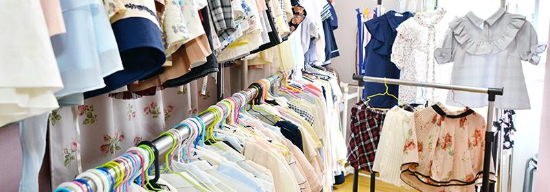 多種多様な衣装は選び放題